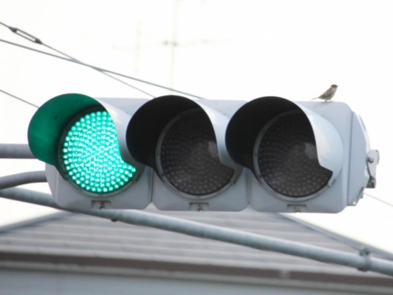 信号機の青信号