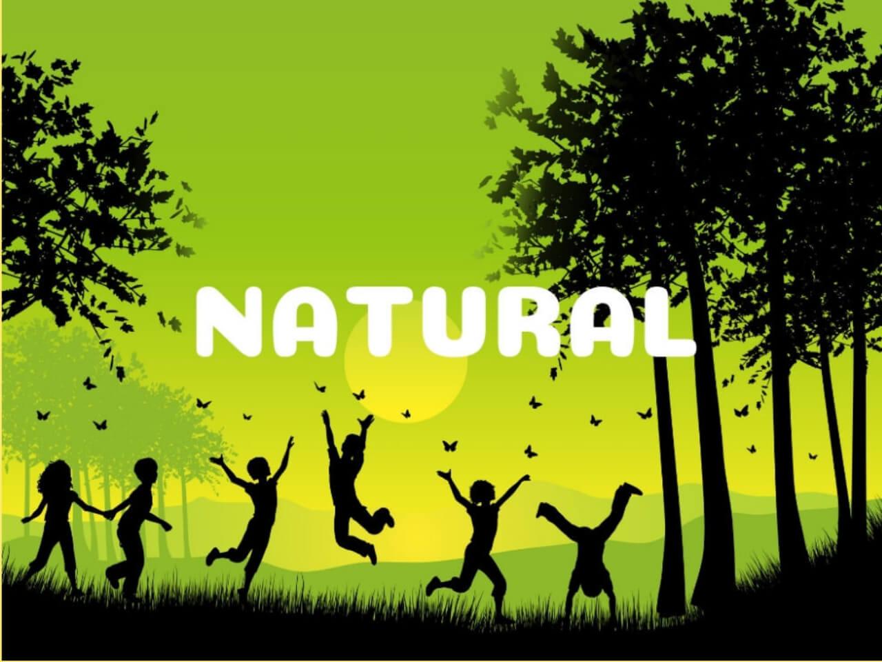 自然が最高だと喜ぶ人たち
