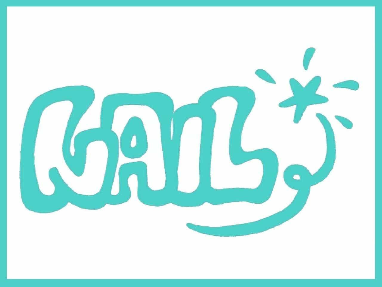 NAILの文字