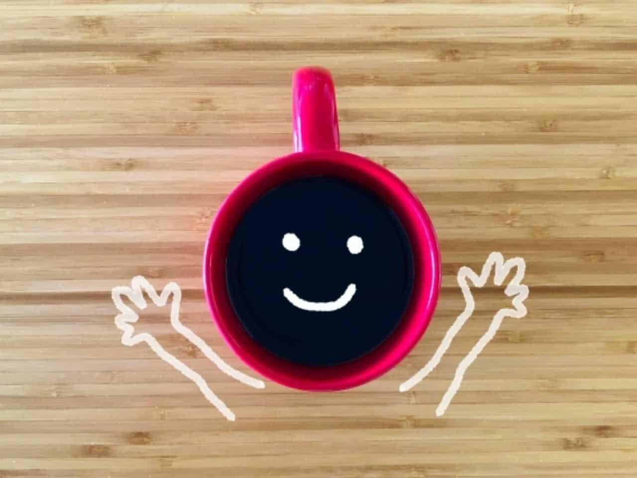 コーヒーで気分転換