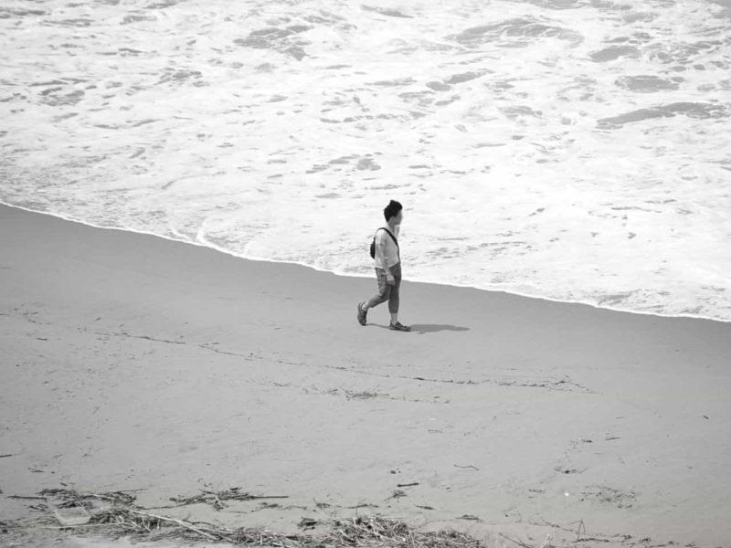 孤独な砂浜