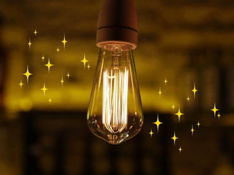 光るライト