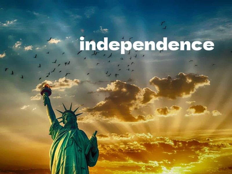 独立の象徴自由の女神