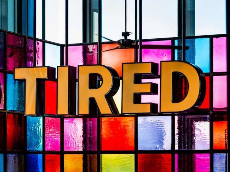 tiredの表示