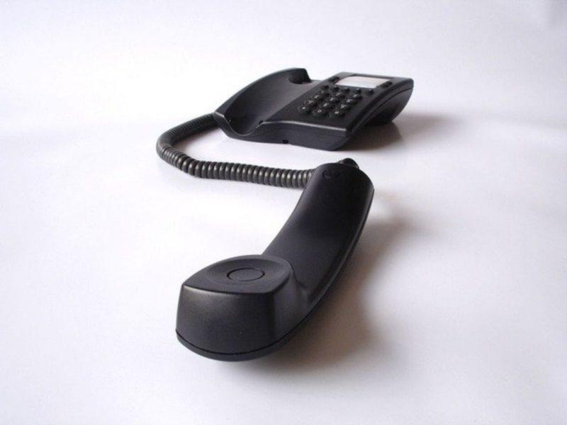 受話器と電話本体
